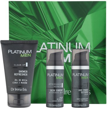Dr Irena Eris Platinum Men Aftershave Repair lote cosmético I.