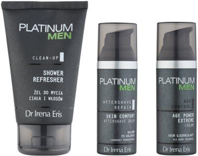 Dr Irena Eris Platinum Men Aftershave Repair set cosmetice I. 1