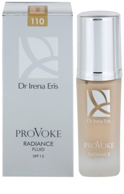 Dr Irena Eris ProVoke bőrvilágosító make-up fluid SPF 15 2