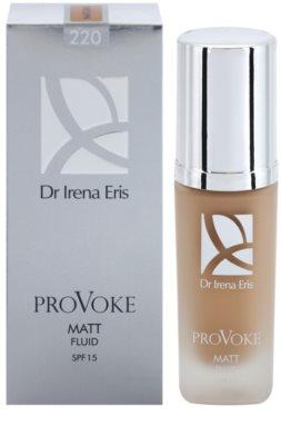 Dr Irena Eris ProVoke Maquilhagem matificante em fluído SPF 15 2