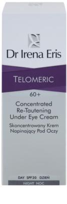 Dr Irena Eris Telomeric 60+ crema para contorno de ojos con efecto lifting SPF 20 3