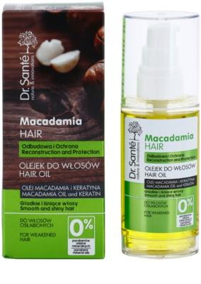 Dr. Santé Macadamia олійка для слабкого волосся 2