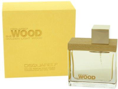 Dsquared2 Golden Light Wood eau de parfum nőknek