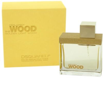 Dsquared2 Golden Light Wood Eau de Parfum para mulheres