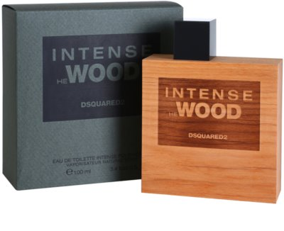 Dsquared2 He Wood Intense eau de toilette para hombre 1