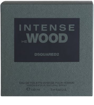 Dsquared2 He Wood Intense Eau de Toilette para homens 4
