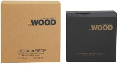 Dsquared2 He Wood gel za prhanje za moške
