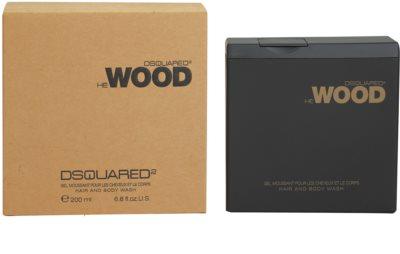 Dsquared2 He Wood żel pod prysznic dla mężczyzn
