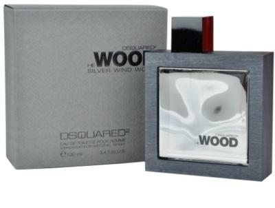 Dsquared2 He Wood Silver Wind Wood toaletní voda pro muže
