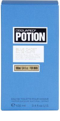 Dsquared2 Potion Blue Cadet toaletní voda pro muže 4