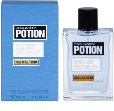 Dsquared2 Potion Blue Cadet Eau de Toilette pentru barbati