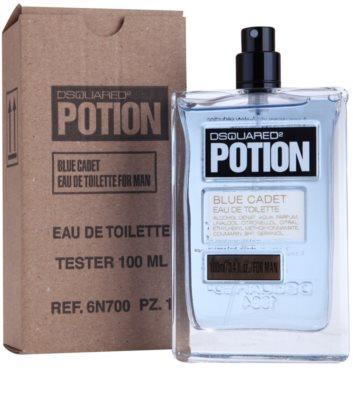 Dsquared2 Potion Blue Cadet туалетна вода тестер для чоловіків 1