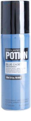 Dsquared2 Potion Blue Cadet дезодорант-спрей для чоловіків