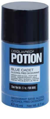 Dsquared2 Potion Blue Cadet deostick pro muže  (bez alkoholu)
