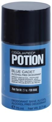 Dsquared2 Potion Blue Cadet desodorante en barra para hombre  sin alcohol