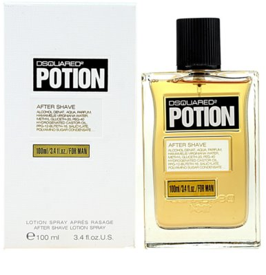 Dsquared2 Potion after shave para homens