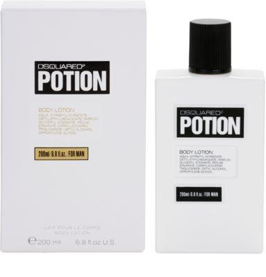 Dsquared2 Potion tělové mléko pro muže