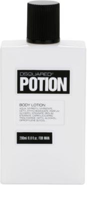 Dsquared2 Potion тоалетно мляко за тяло за мъже 2