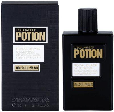 Dsquared2 Potion Royal Black Eau De Parfum pentru barbati
