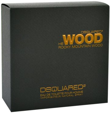 Dsquared2 He Wood Rocky Mountain eau de toilette para hombre 1