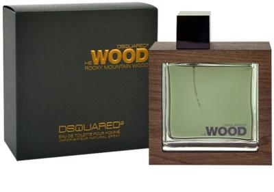 Dsquared2 He Wood Rocky Mountain Eau de Toilette para homens
