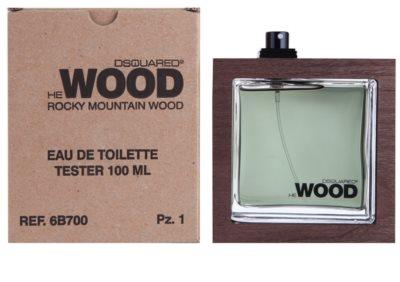 Dsquared2 He Wood Rocky Mountain woda toaletowa tester dla mężczyzn 1
