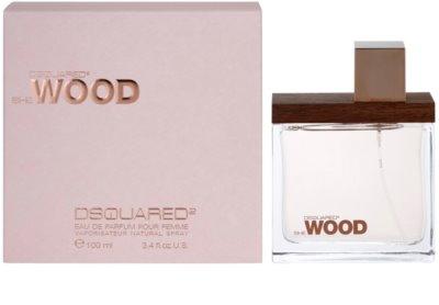 Dsquared2 She Wood eau de parfum nőknek