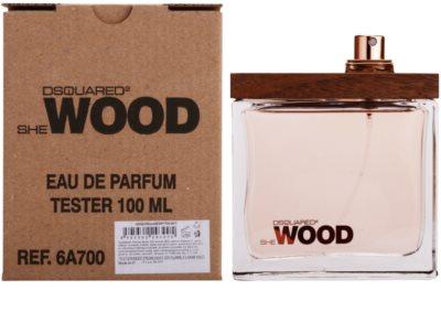 Dsquared2 She Wood eau de parfum teszter nőknek 1