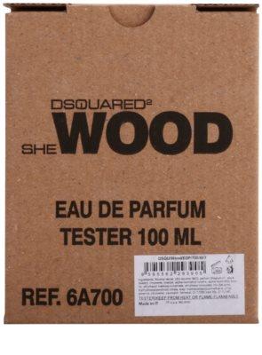Dsquared2 She Wood eau de parfum teszter nőknek 2