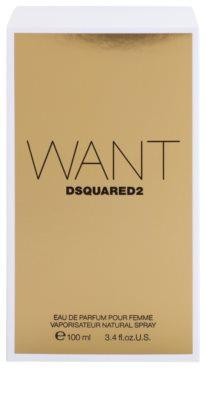 Dsquared2 Want Eau de Parfum para mulheres 4