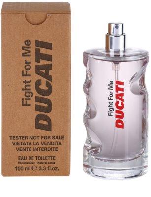 Ducati Fight For Me тоалетна вода тестер за мъже 1