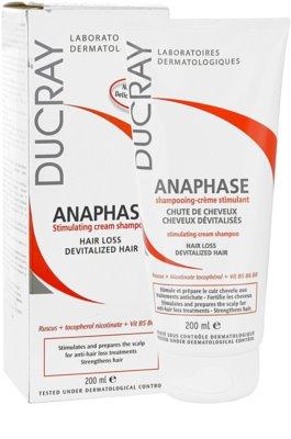 Ducray Anaphase stimulacijski kremasti šampon proti izpadanju las 1