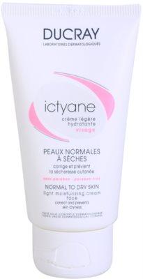 Ducray Ictyane hidratante leve para pele normal a seca