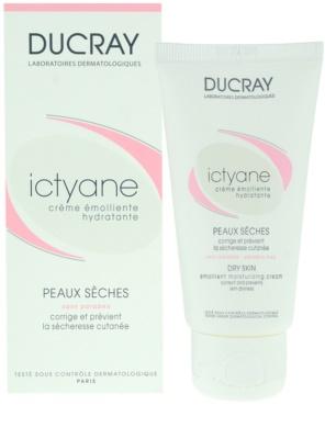 Ducray Ictyane creme de dia   para pele seca 1