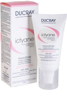 Ducray Ictyane crema hidratante y protectora SPF 15 1