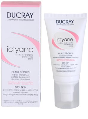 Ducray Ictyane crema hidratante y protectora SPF 15 2