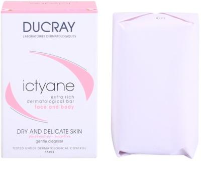 Ducray Ictyane туалетне мило для сухої та чутливої шкіри 2