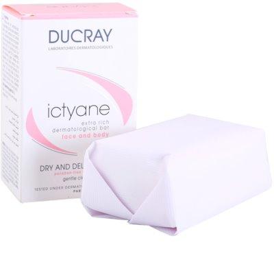 Ducray Ictyane jabón sólido para pieles secas y sensibles