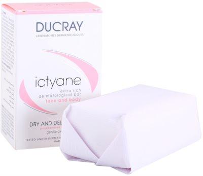 Ducray Ictyane tuhé mydlo pre suchú a citlivú pokožku