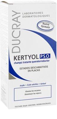Ducray Kertyol P.S.O. šampon proti prhljaju 2