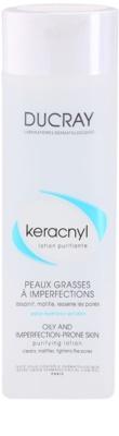 Ducray Keracnyl tisztító víz a zsíros és problémás bőrre