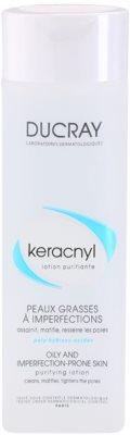 Ducray Keracnyl очищаюча вода для жирної та проблемної шкіри обличчя