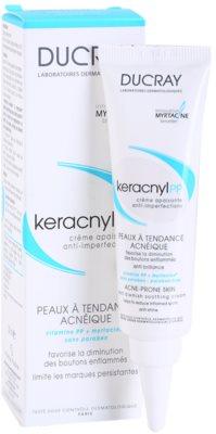 Ducray Keracnyl заспокоюючий крем проти недосконалостей шкіри 1