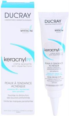Ducray Keracnyl заспокоюючий крем проти недосконалостей шкіри 2