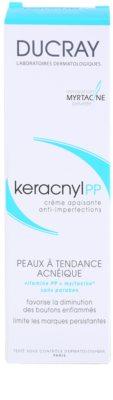 Ducray Keracnyl заспокоюючий крем проти недосконалостей шкіри 3