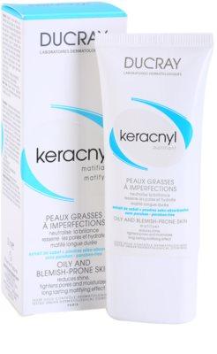 Ducray Keracnyl crema matificante para pieles grasas 1