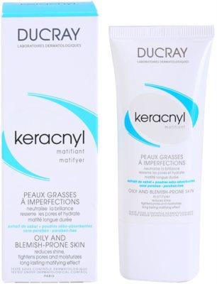 Ducray Keracnyl creme matificante  para pele oleosa 2