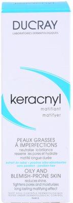 Ducray Keracnyl creme matificante  para pele oleosa 3