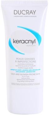 Ducray Keracnyl creme matificante  para pele oleosa