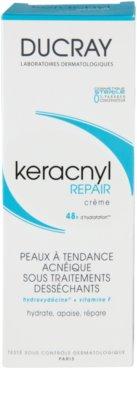 Ducray Keracnyl crema regeneratoare si hidratanta pentru piele uscata si iritata in urma tratamentului antiacneic 3